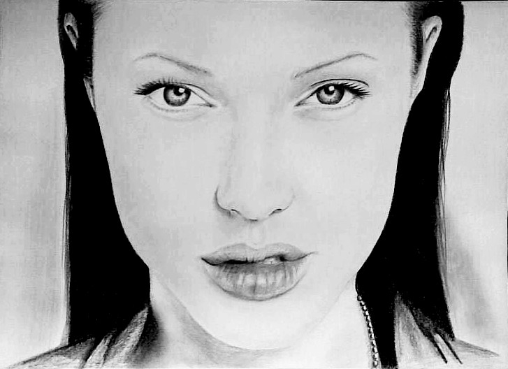 Angelina Jolie by GeorgieArt